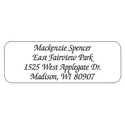 personalized labels seals roll address labels walter drake