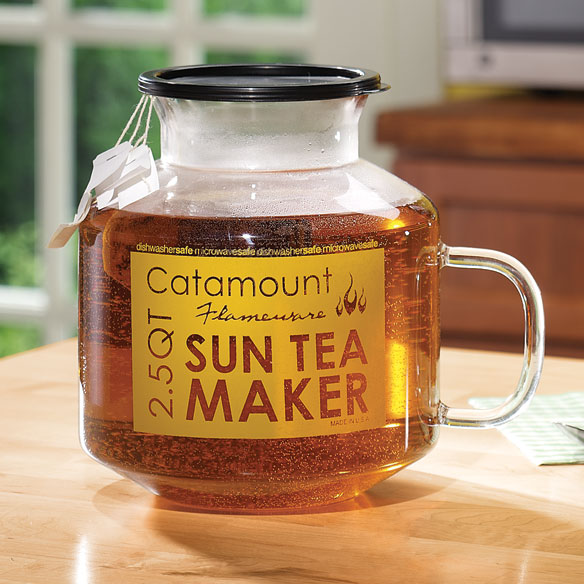 Catamount Glass Microwave Sun Tea Maker