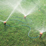 Lawn & Garden - Portable Sprinkler System