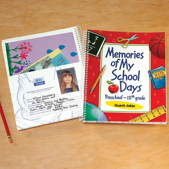 Personalized School Days Book