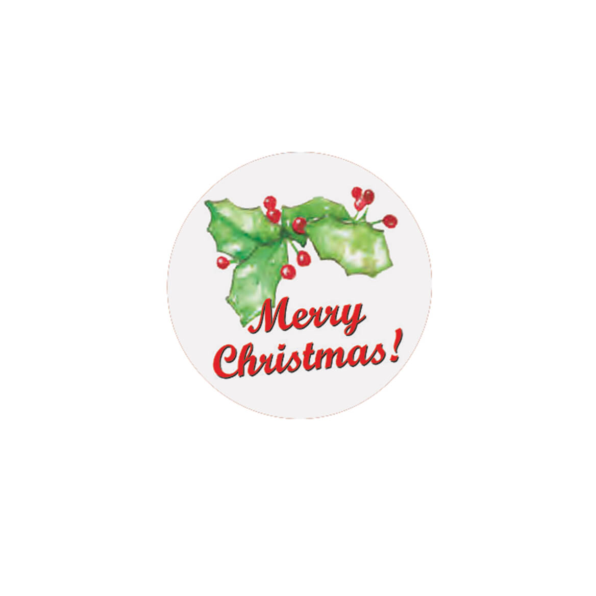 Merry Christmas Seals Set of 250-325251