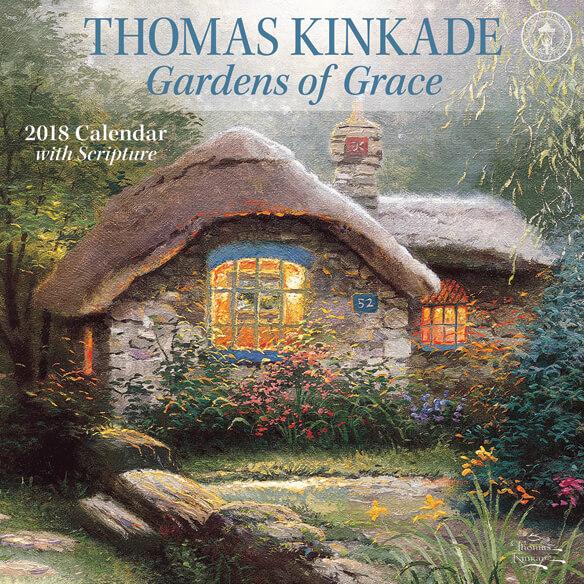 Thomas Kinkade Scripture Wall Calendar