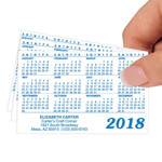 Calendars - Personalized Matte Plastic Calendars, Set of 50