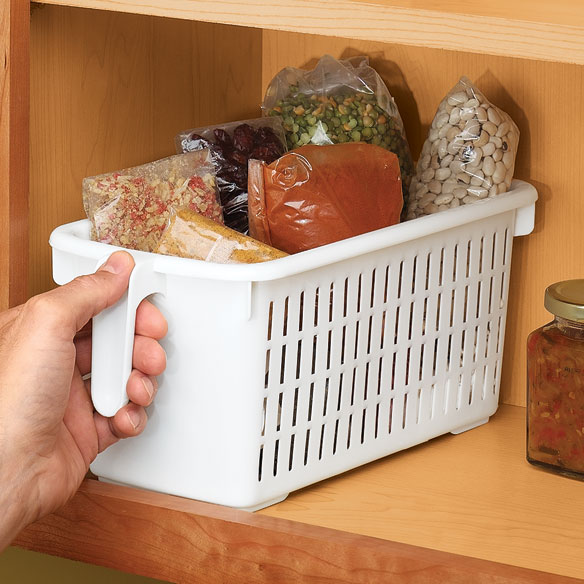 Storage Basket With Handle