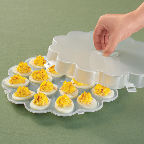Deviled Egg Tray With Lid
