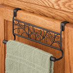 Organization & Decor - Over the Cabinet Towel Bar