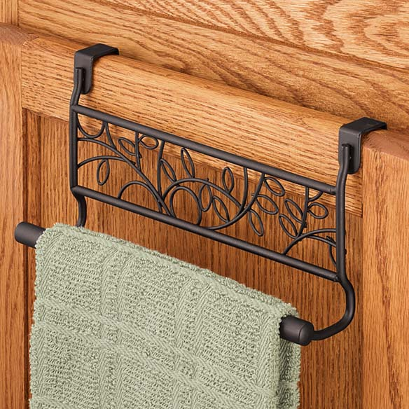 Twigz Over the Cabinet Towel Bar