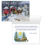 Christmas Cards - Home For Christmas Card Set