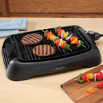 Table Top Electric Grill, 13 Inch, Black