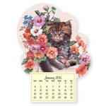 Special Truckload Sale - Kitten Mini Magnetic Calendar