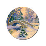 Home Office - Snowy Bridge Seals, Set of 21