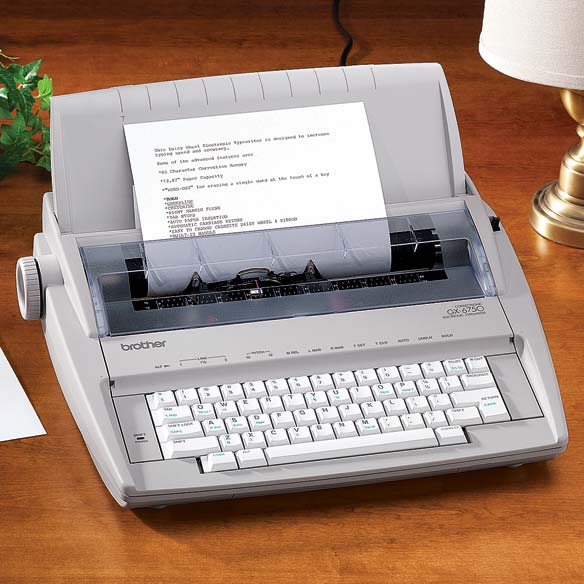 Traditional Electronic Typewriter