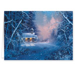 Christmas Cards - Woodland Chapel Christmas Card - Set Of 20