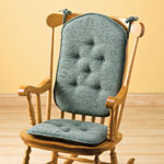 Accent Furniture - Raindrops High Back Rocking Chair Cushions