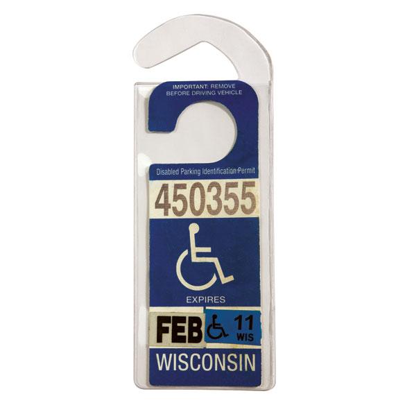 Handicap Placard Hanger