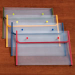 Home Office - Fabric Edged Clear Plastic Envelopes