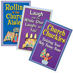 Home Entertainment - Church Humor Trio Softcover Books