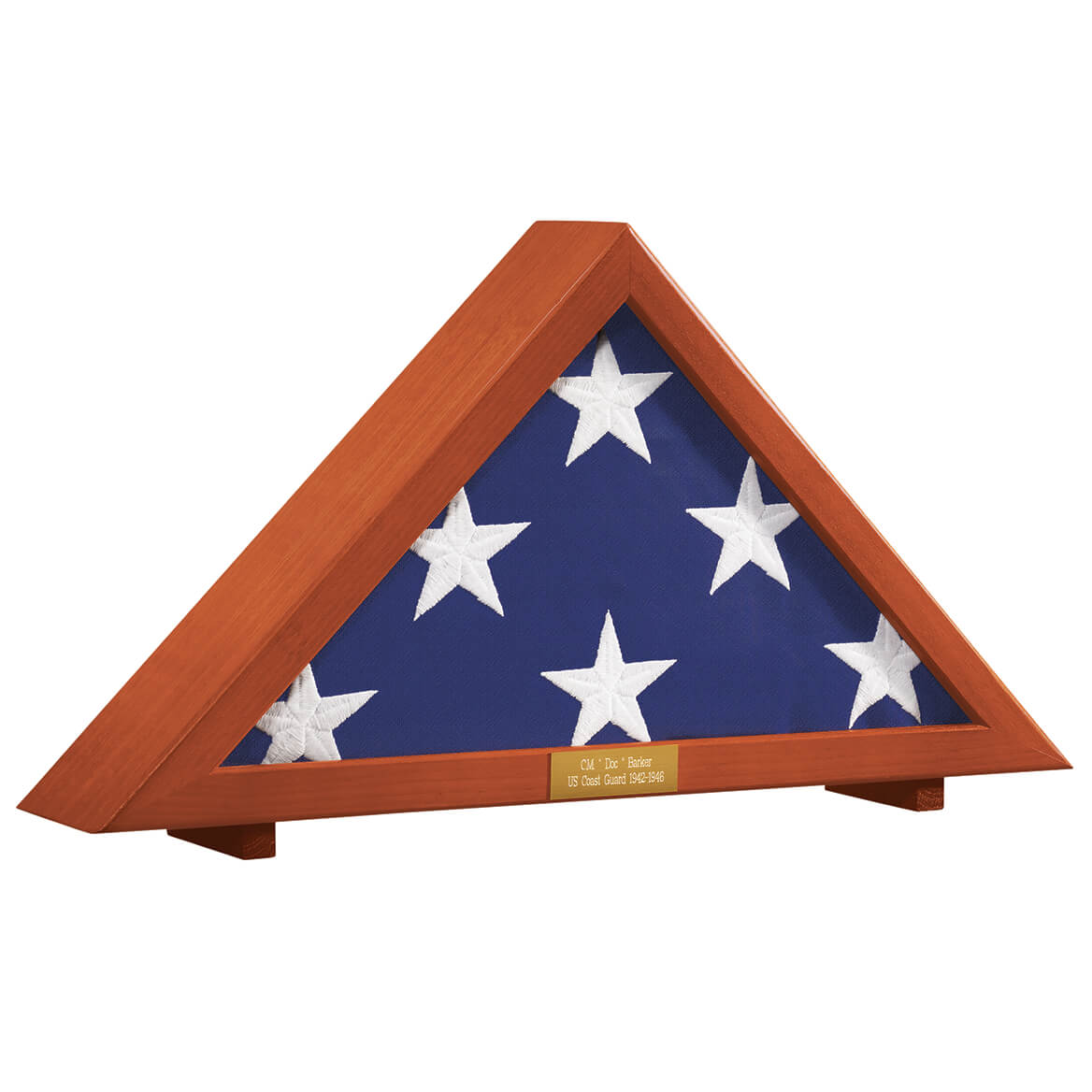 Personalized Flag Display Case-332793