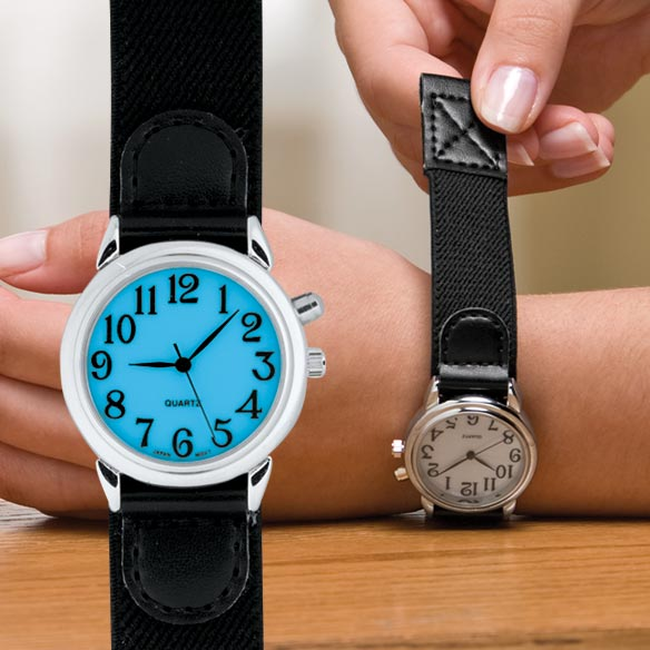 Lite-Up Self Fastening Watch