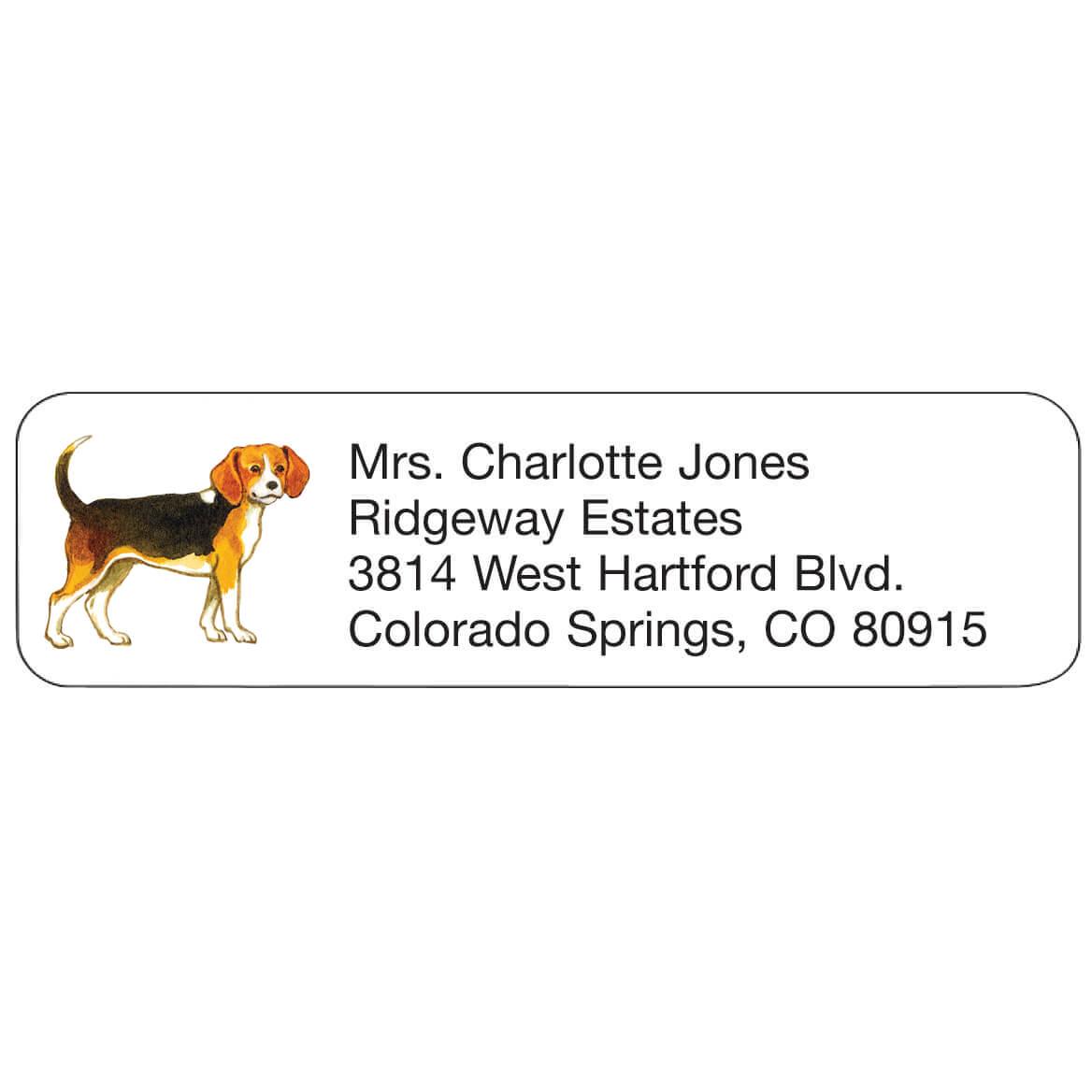 Personal Design Labels Beagle-333172