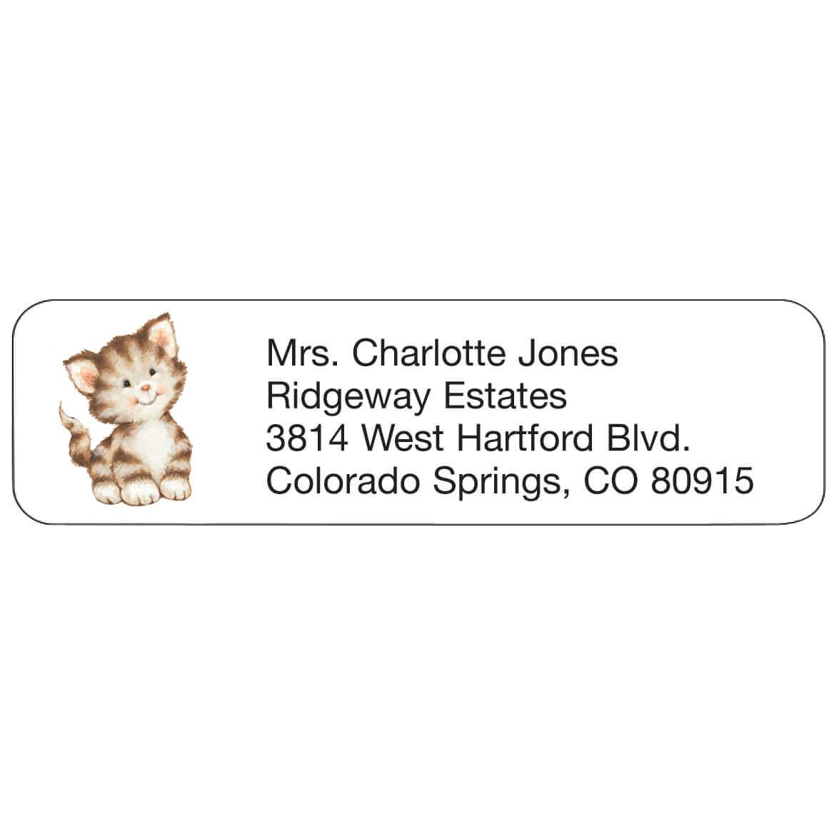 Kitten Personalized Address Labels-333174