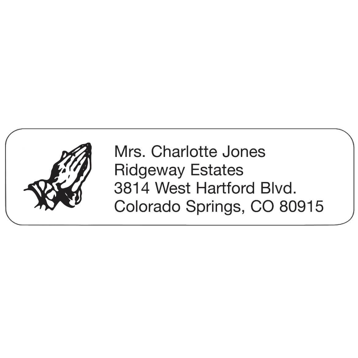 Prayer Personalized Address Labels-333189