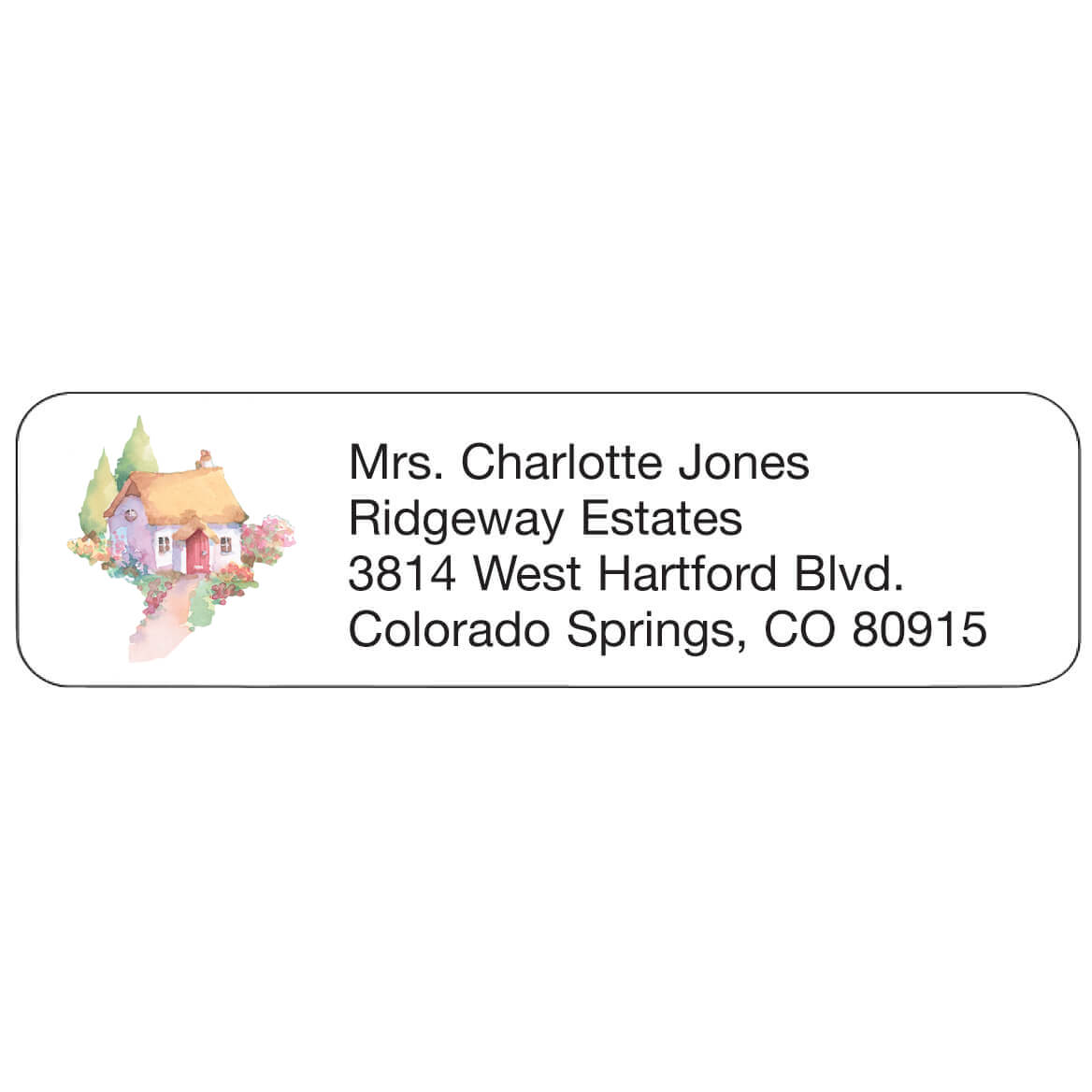 Cottage Personalized Address Labels-333194
