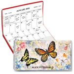 Calendars - Butterflies 2 Year Personalized Planner
