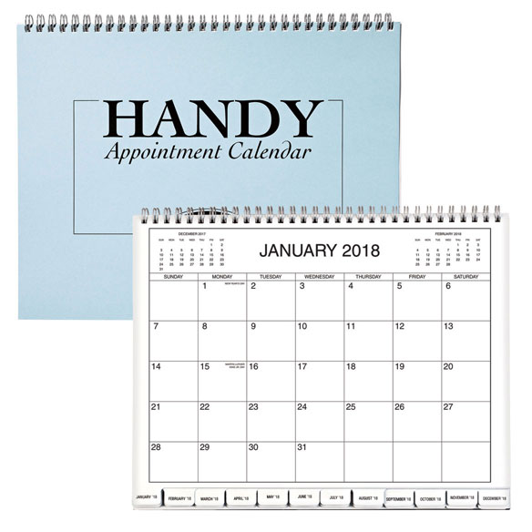5 Year Monthly Appointment Calendar