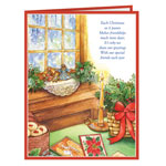 Gift Cards & Letters - Calendar Gift Christmas Card Set/20