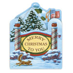 Christmas Cards - Your Town Square Christmas Card Set/20