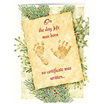 Christmas Cards - Christmas Certificate Card Set/20