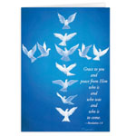 Abbey Press - Dove Cross Christmas Card - Set Of 20