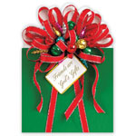 Religious - Friends are God's Gifts Christmas Card Set of 20