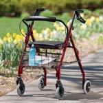 Walter's Winners - Lumex Walkabout Lite 4 Wheel Rollator