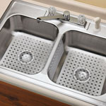 Kitchen Sink Mats And Sink Divider Mat, Clear