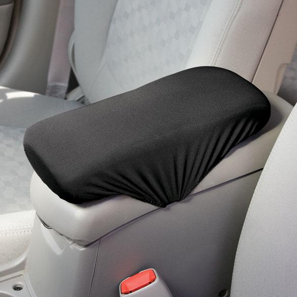 Car armrest console cushion