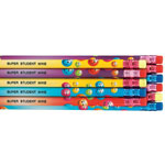 Home Office - Personalized Smiley Face Pencils - Assortment Set Of 12