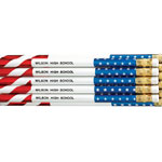 Home Office - Patriotic Pencils, Set of 12