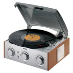 Home Entertainment - Jensen® Turntable With Radio