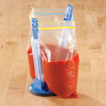 Food Storage - Hands Free Baggy Rack