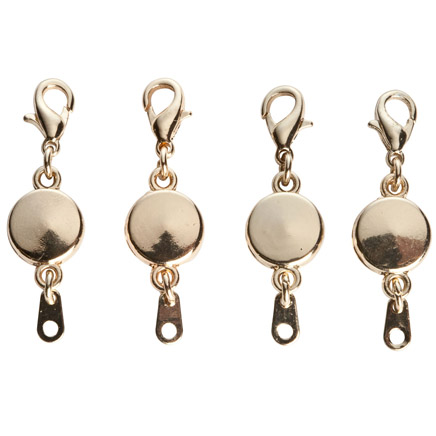 Купить со скидкой Locking Magnetic Jewelry Clasps - Set Of 4