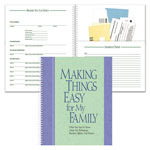 Top Items - Family Organizer Book