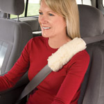 Auto & Travel - Sherpa Seat Belt Covers - Set Of 2