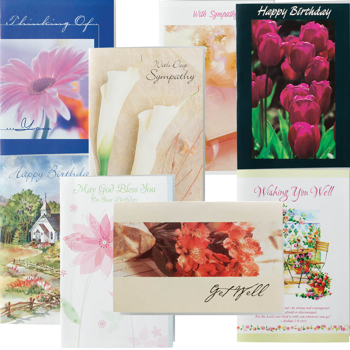 christian all occasion cards value pack of 24 - Christian Greeting Cards