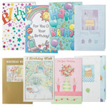 Memos, Notepads & Cards - Birthday Cards Value Pack of 24