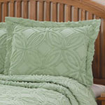 White Sale - The Eliza Chenille Bedspread Sham by East Wing Comforts