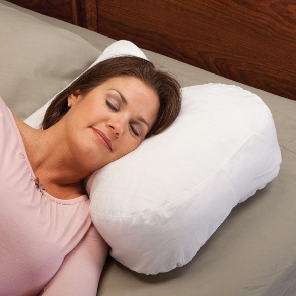Sound Sleeper Neck And Shoulder Pillow Walter Drake