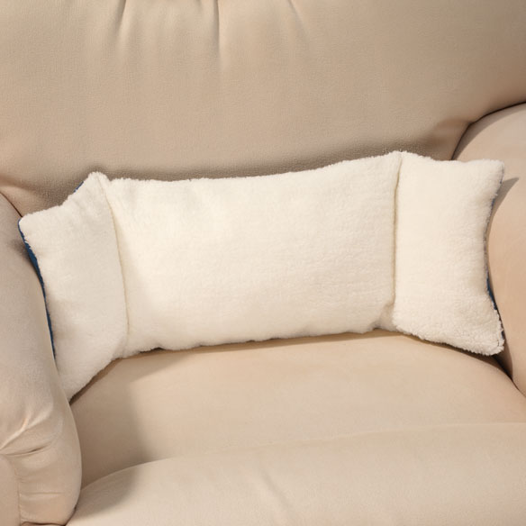 Sherpa Back Support Pillow