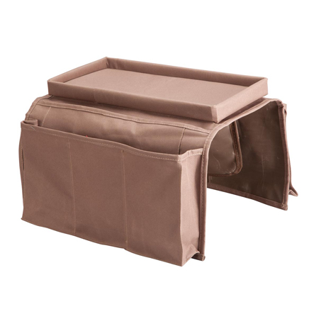 Amazon Com Clobeau Armrest Caddy Couch Caddy Remote Organizer